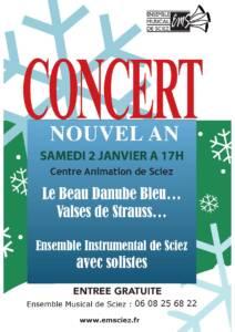 Concert 2 janvier 2016