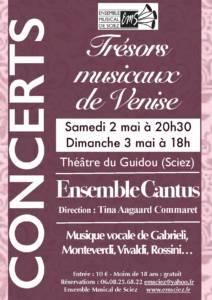 Concerts 2-3 mai 2015