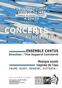 Concerts Au bord de l'eau 23-24 mai 2014