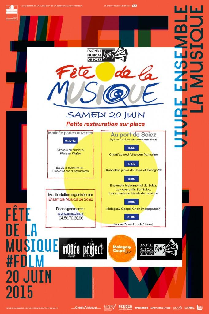 Fête de la Musique 2015 - 20 juin 2015 - Auditorium du port de Sciez