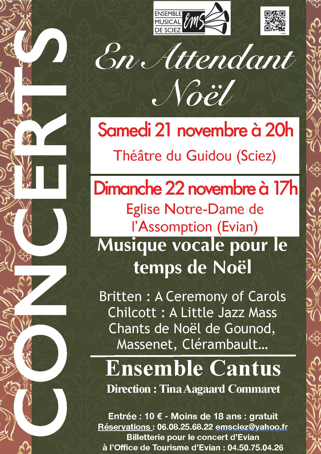 Cantus ensemble musical de sciez - Office de tourisme de sciez ...