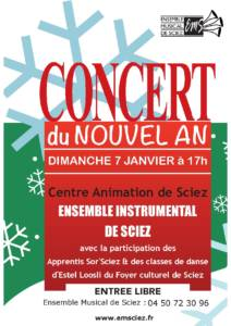 Concert 7 janvier 2018