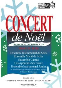 Concert 17 décembre 2017