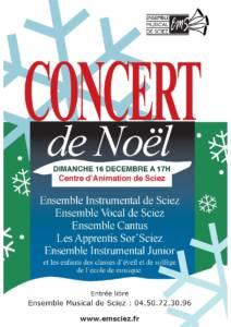 Concert 16 décembre 2018