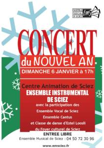 Concert 6 janvier 2019