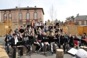 Ensemble Instrumental de Sciez à Wasselonne mars 2015