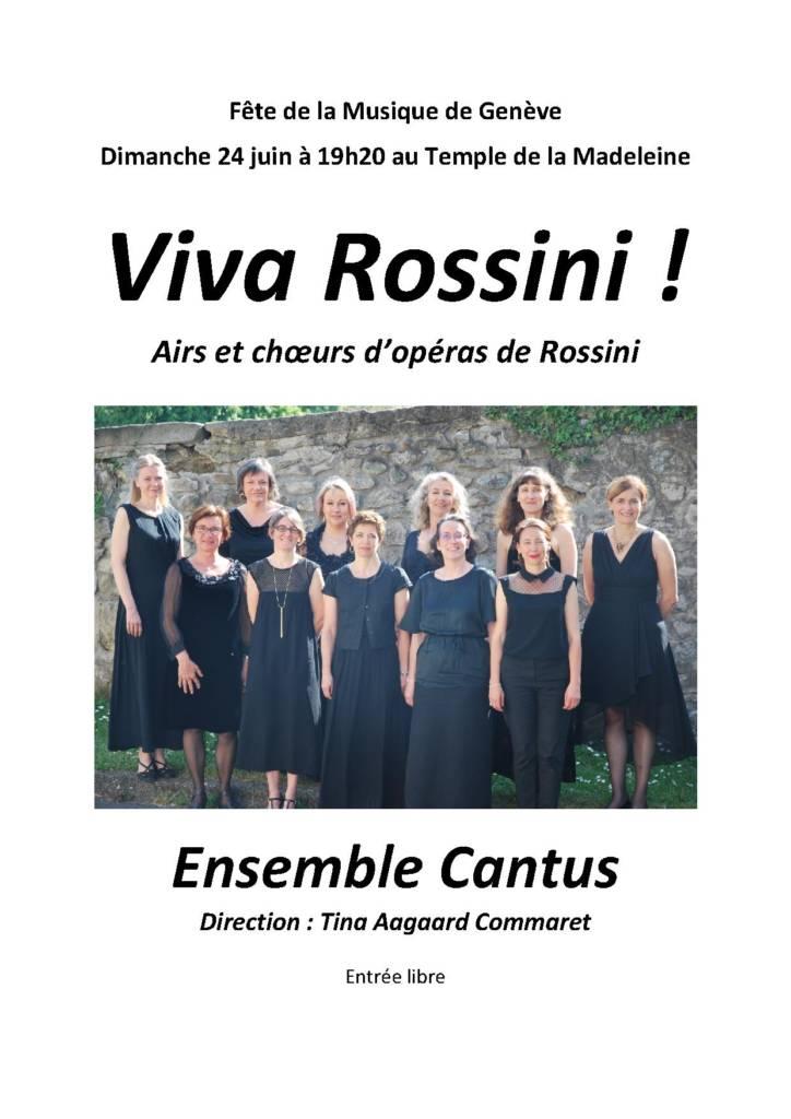 Fête de la Musique de Genève 24 juin 2018