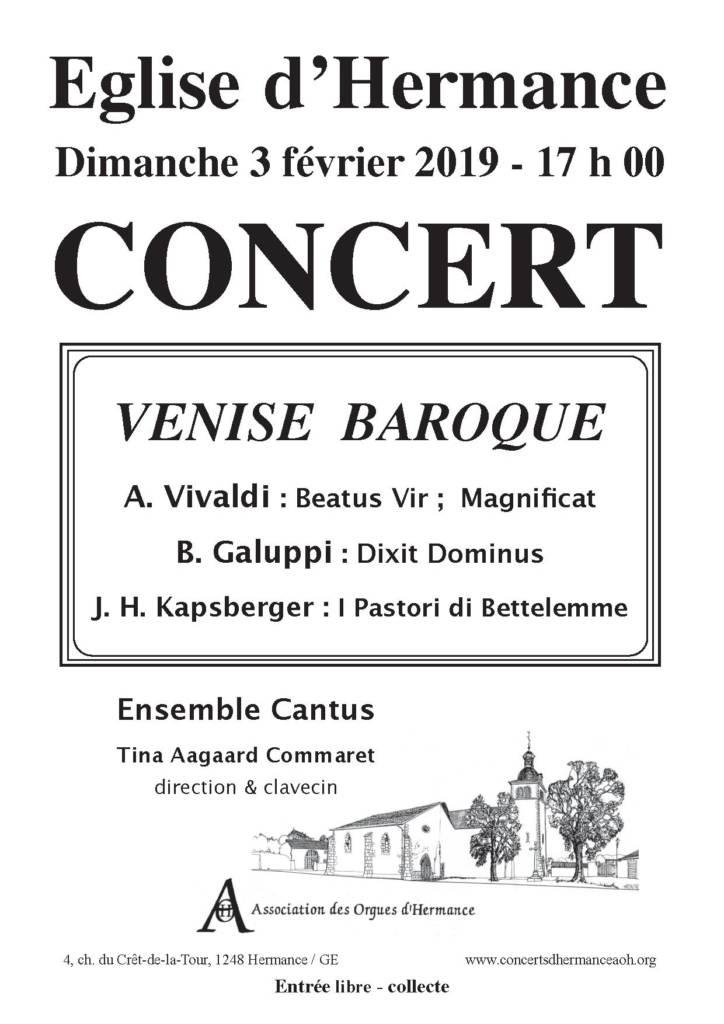 Concert 3 février 2019